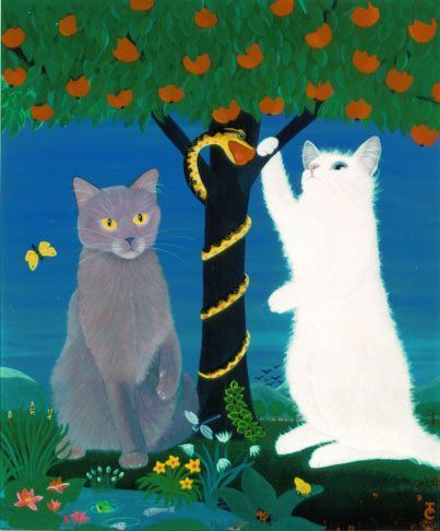 Des chats superbes