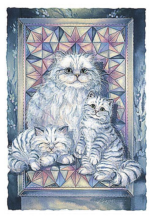 Les chats de Jody Bergsma