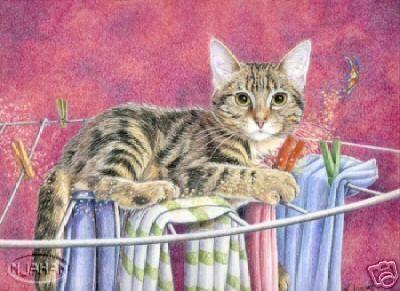 Et voici une grande dessinatrice de chats