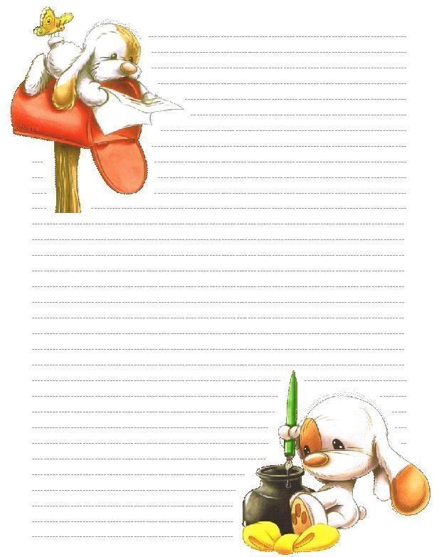 Papiers lettres imprimer - Lettres a imprimer ...